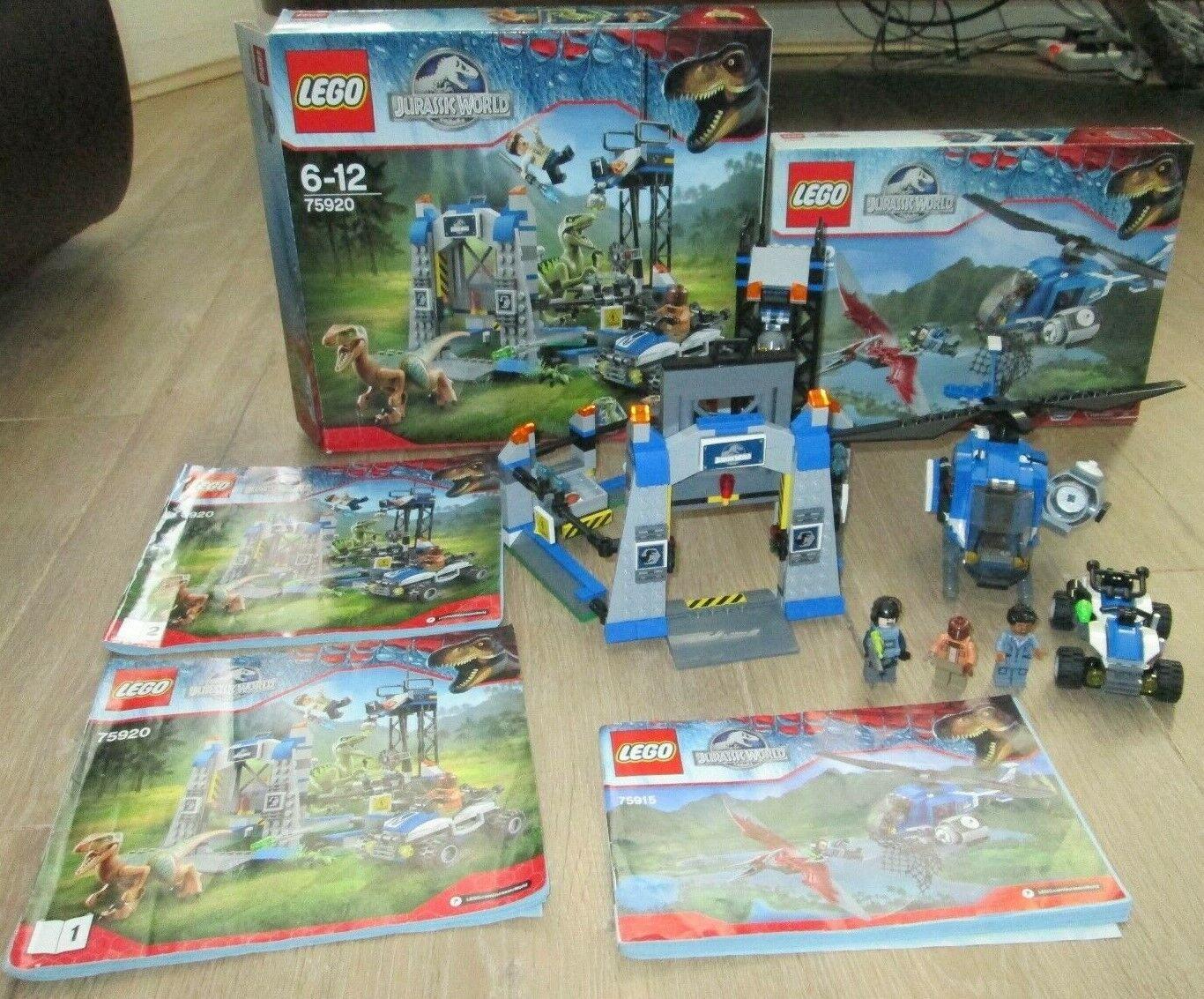 LEGO JURASSIC WORLD SET 75920 75915