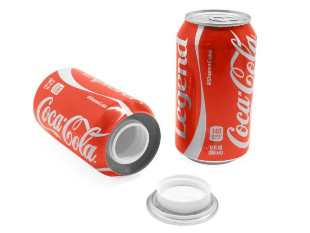 Coke Cola 12oz Can Safe Hidden Storage Secret Diversion Stash Fake Soda  BU-681