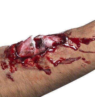 Halloween Fancy Dress Mens Latex Make Up Broken Bone Scar Effect 1st Class Post