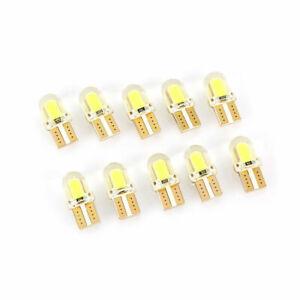 10x-T10-LED-168-194-Chip-COB-8-SMD-Glassockel-Auto-Standlicht-Beleuchtung-Licht