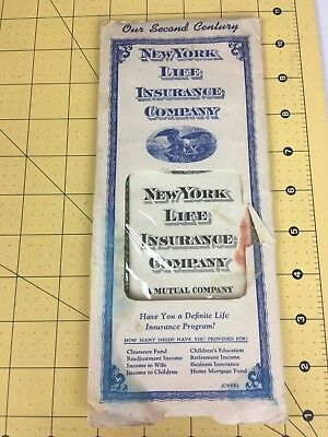 Other Banking & Insurance Collectibles New York Life Insurance Company 1946 $1000 Life Policy W/beneficary Change Form Convenient To Cook