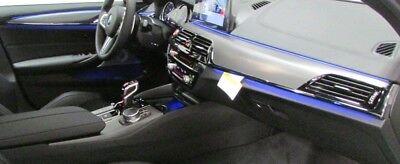 BMW FEO G30 G31 F90 5 Series 2017+ Dark Aluminum Fiber Interior Trim Kit  New | eBay