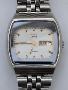 Vintage-HMT-Arvind-21-jewels-automatic-day-date-watch