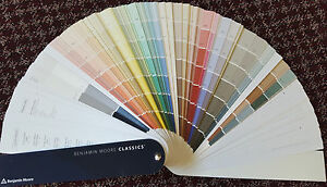Image Is Loading Benjamin Moore Clic Color Fan Deck Hundreds Of