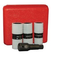 Atd Atd4354 4 Pc. 1/2inch Drive Protective Wheel Nut Flip Impact Socket Set