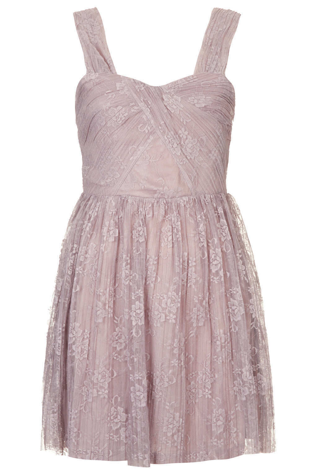 530c1b3566692 New TOPSHOP lace pleated dress in Mink nocjel2871-Dresses - ceiling ...