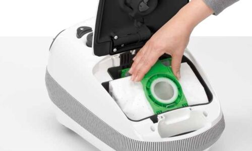Sebo Airbelt Vacuum Cleaner E1 Allstar with 8 Vacuum Cleaner Bags 2 Years Warranty