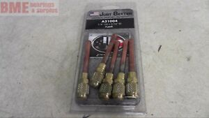"""Lot of 2 Just Better//JB 1//4/"""" x 3//16/"""" 5-Pack Access Valve A31004 NOS"""