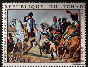 Stamp-New-Napoleon-Bonaparte-Paintings-Tchad-88M367