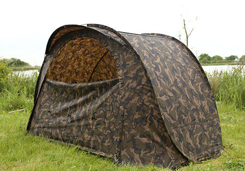 Fox Nuevo Pesca De Carpa Pop Up Camo fácil Refugio Vivac-CUM187