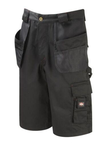 Da Uomo Lee Cooper Workwear 3//4 Pantalone Cargo Short Fondina Tasca Pantaloncini Pantaloncini di lavoro