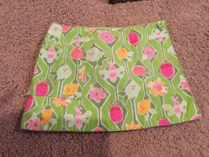 Baby & Toddler Clothing Collection Here Lilly Pulitzer Sz 2t Wrap Around Reversible Skirt Flowers/bugs & Pink Floral Beneficial To Essential Medulla Clothing, Shoes & Accessories