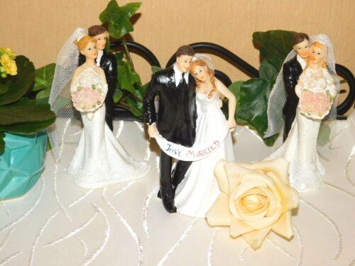 Couple heureux à secteurs Personnage-dokoration 13,5 X 7 CM-sélection mariés