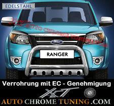 Frontschutzbügel mit Unterfahrschutz für Ford RANGER ab 2009 - 2012  mit EC/TÜV