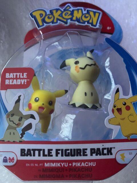 PANCHAM AND RIOLU Pokemon Battle Figure Set