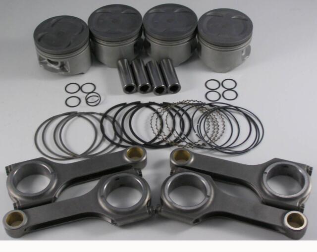 Nippon Racing JDM Turbo Honda B-Series Pistons Scat Rods B20Z CRV B20B  84.5mm