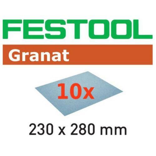 FESTOOL Schleifpapier Granat 230x280mm P40-P400 10Stk.