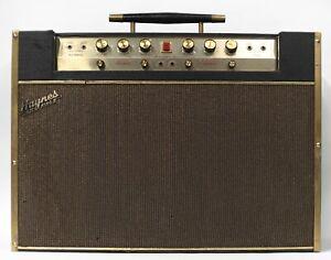 Haynes Jazz King II 2x12 Solid State Guitar Combo Amplifier w/ Reverb & Tremolo