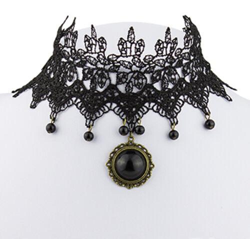Dirndl Halsband Burlesque Kette Halskette Barock Victorian Dirndl Kragen Gothic