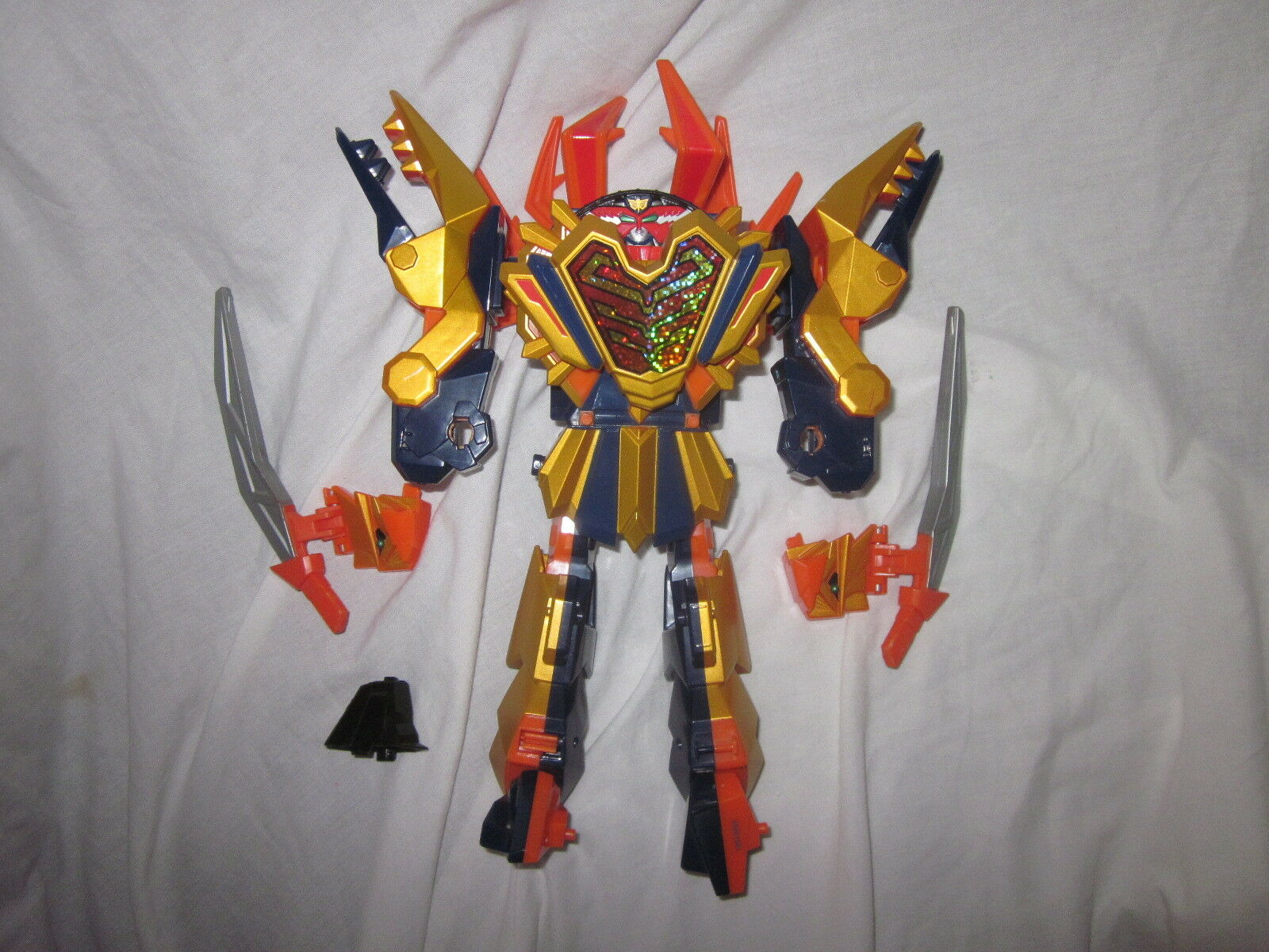 Power rangers dx samurai clawzord megazord spielzeug