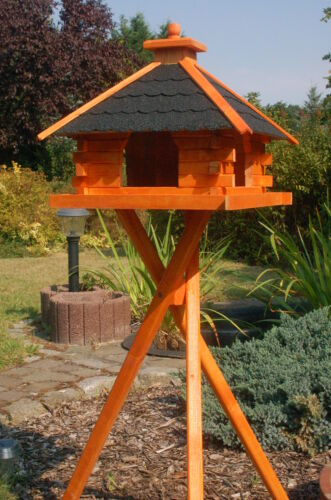 Optional with Stand and Solar V20 Bird House Various Sizes and Colours