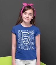 Kids Cute Kindergarten T Shirt Typography Adventure Begins Shirt Boy/'s Girl/'s Gr