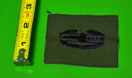 Army CAB PAIR CLOTH SUBDUDED COMBAT ACTION CAB BADGE 2005 to date