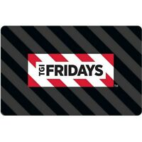 $25 TGI Friday's Pre-Owned Paper Gift Card