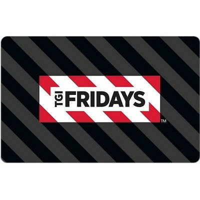 TGI Friday's $15 Gift Card for Only $10.65! Free Shipping, Pre-Owned Paper Card