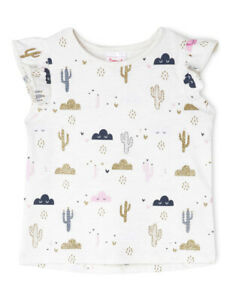 Baby & Toddler Clothing Clothing, Shoes & Accessories New Sprout Girls Essential Top Tgs19000-cw10 Oatl Marle