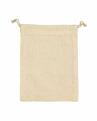 1520DS Bags By Jassz /'Larch/' Medium Drawstring Bag 100/% Cotton 20cm x 15cm