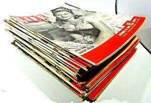 Vintage Life Magazine, Year 1946, 20 Issues