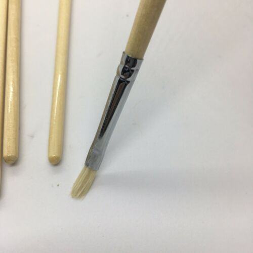 Filbert Artist Paint Brushes Set 50 Pc #1 Pure Hog Bristle For Oil Acrylic Paint