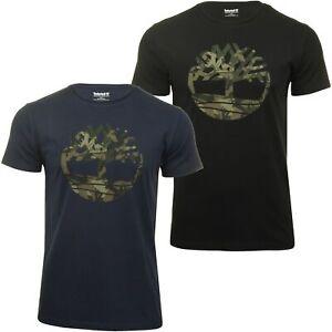 Timberland-Mens-Jersey-T-Shirt-039-Kennebec-Tree-Tee-039-Short-Sleeved