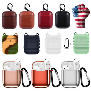 For-Apple-AirPods-PU-Leather-Airpods-Earphone-Cover-Protective-Bag-Charging-Case
