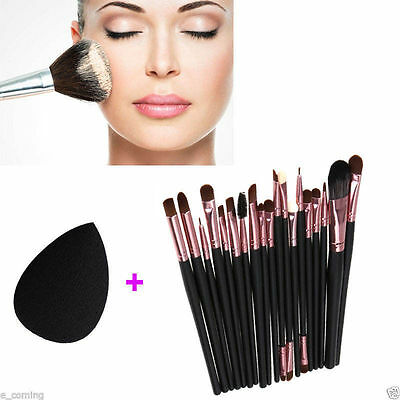 20pcs Makeup Brushes Set Powder Foundation Eyeshadow Eyeliner Lip Brush Tool KY