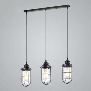 Image Is Loading Modern Multi Light Pendant Industrail Ceiling Fixture Kitchen