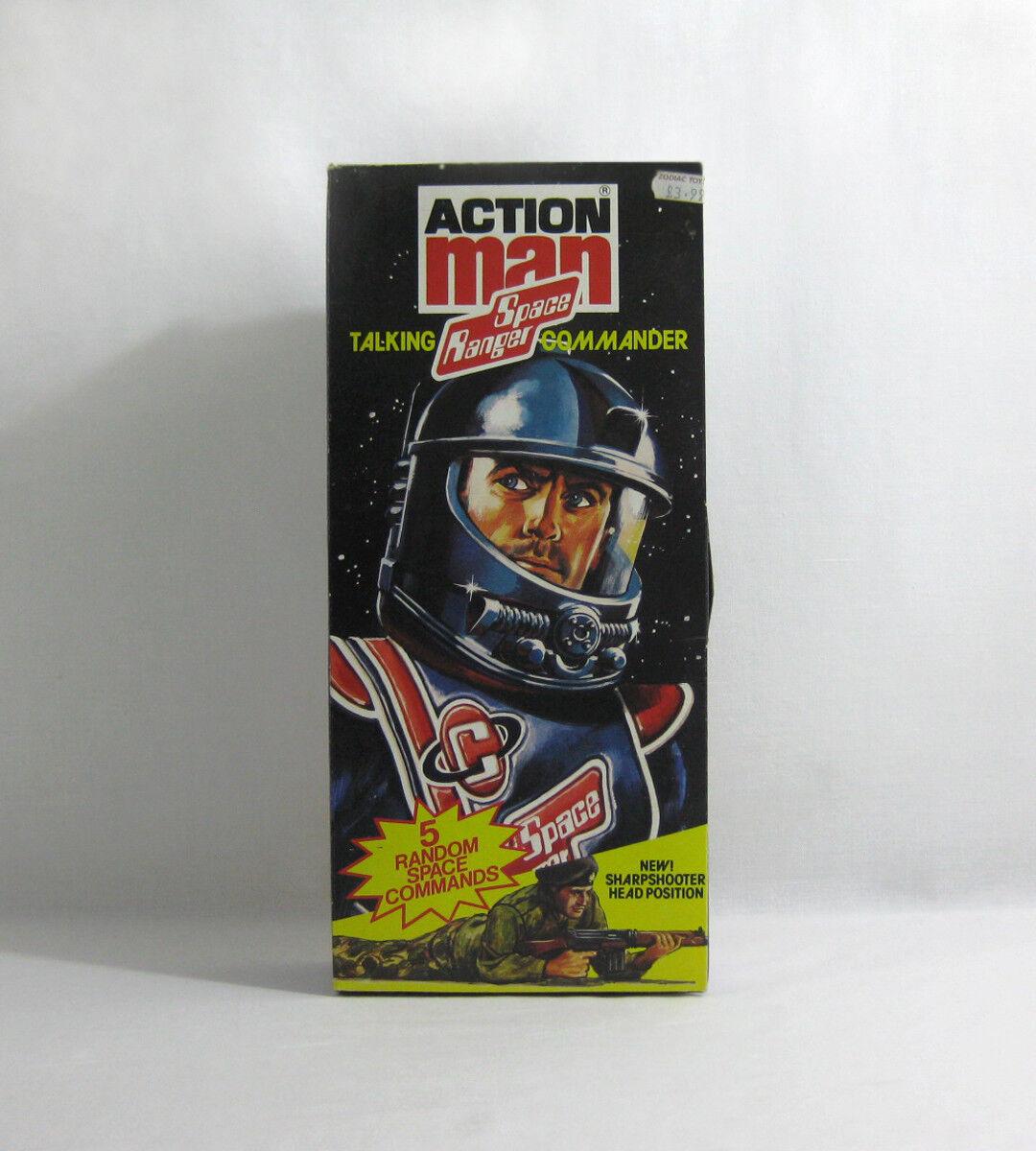1981 VINTAGE ACTION MAN ✧ parlando SPACE RANGER Commander ✧ HASBRO G.I. Joe inutilizzati