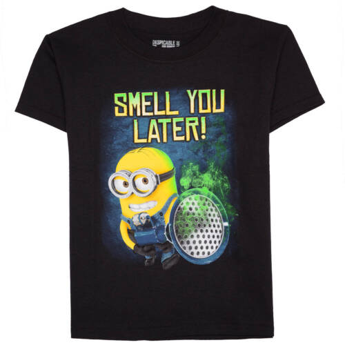 Minions odeur Vous Plus Tard T-shirt Garçons New Free Ship XL /& XS