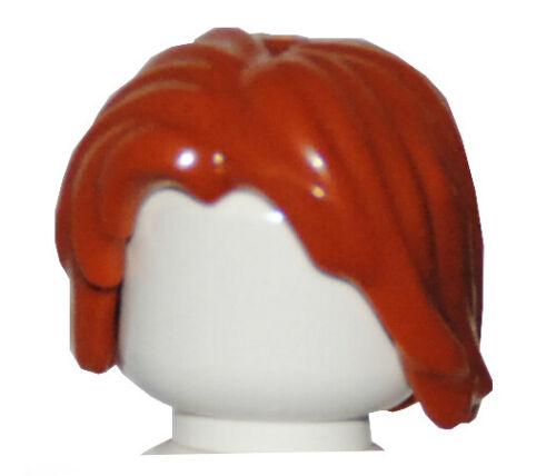 LEGO® Haare dunkelorange Perücke Frisur für Figur 88283 Hair 6006514 NEU