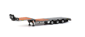 60% de descuento WSI 04-1139 Broshuis Broshuis Broshuis semi camión cama baja triple eje 1 50 Escala  Disfruta de un 50% de descuento.