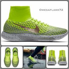 Nike Lunarepic Flyknit Shield Water Resistant Running Shoe 849664-700 UK 9.5
