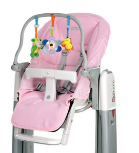 AgréAble Baby Cushion - Peg Perego - 1 Rivestimento Rosa Soffice E Lavabile