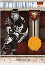 NHL 11/12 PAUL COFFEY GAME WORN JERSEY PITTSBURGH PENGUINS OILERS Panini Hockey