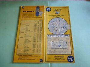 Lyon Karte.Details About Michelin Map 74 Lyon Geneve 1964 Maps Karte Cartolina Show Original Title
