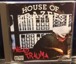 House of Krazees - Head Trauma CD twiztid insane clown posse HOK esham the roc
