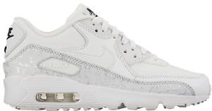 Details about NEW Girl's Nike Air Max 90 LTR SE Shoes Size: 5.5Y Color: White