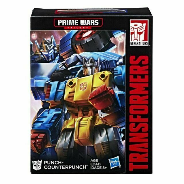 HASBRO TRANSFORMERS PRIME WARS PUNCH COUNTERPUNCH POWER OR THE PRIMES