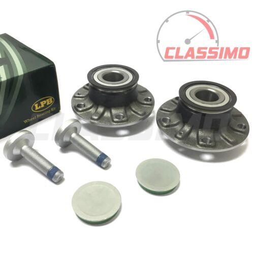 ALTEA 2005 to 2012 Rear Wheel Bearing Hub Pair for SEAT LEON MK 2 1P