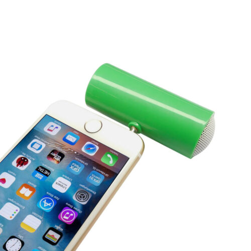 Mini Portable 3.5mm Music Player Stereo Speaker For iPod iPhone6 Note4 Cellphone